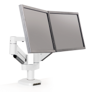 7000-Busby-8408 – Dual Monitor Arm with Integrated USB Hub
