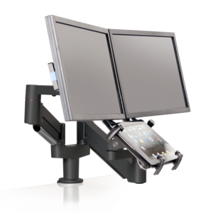 7050-Switch – Tablet & Dual Monitor Mount