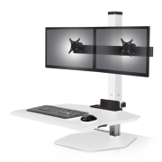 Winston Workstation Dual Freestanding Sit-Stand
